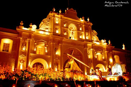 Antigua Guatemala en Semana Santa