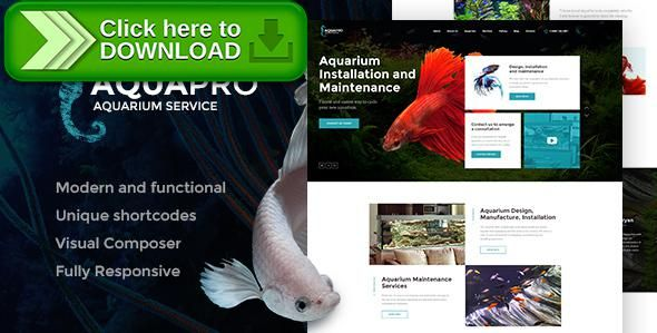 [ThemeForest]Free nulled download AquaPro | Aquarium Services & Online Store from http://zippyfile.download/f.php?id=2025 Tags: aquarium, aquarium fish, aquarium installation, blog, design, handyman, maintenance, online store, pet shop, pets, services, shop