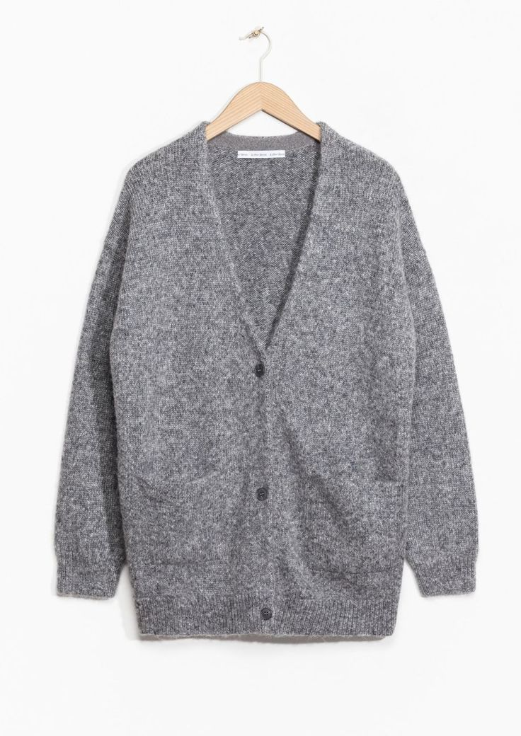& Other Stories | Wool-Blend Cardigan