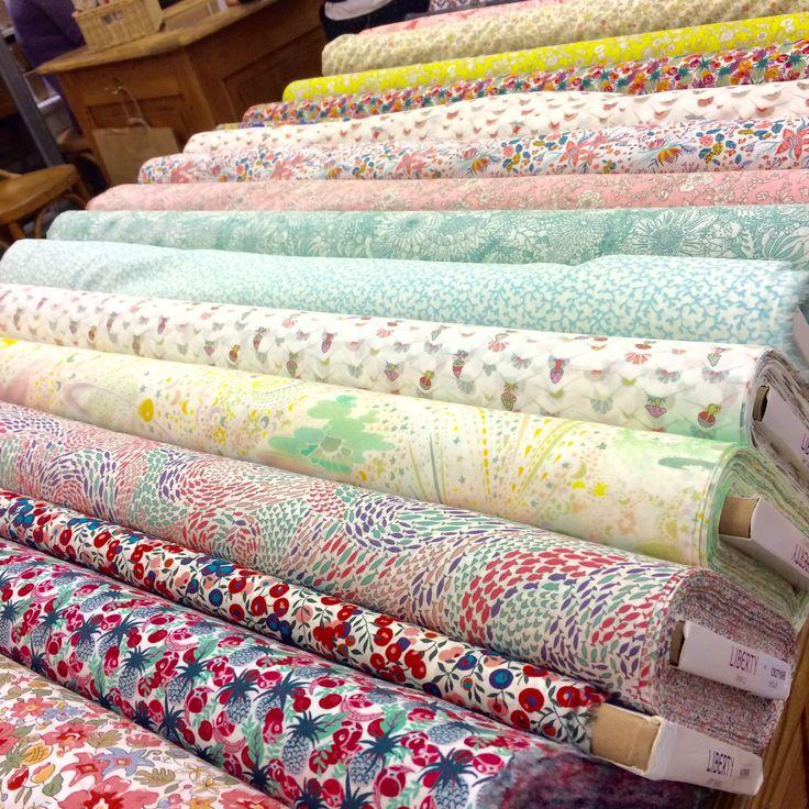 Liberty Fabric Tana Lawn New Summer Collection 2017 Castaway and Garden of Dream lamercerieparisienne.com