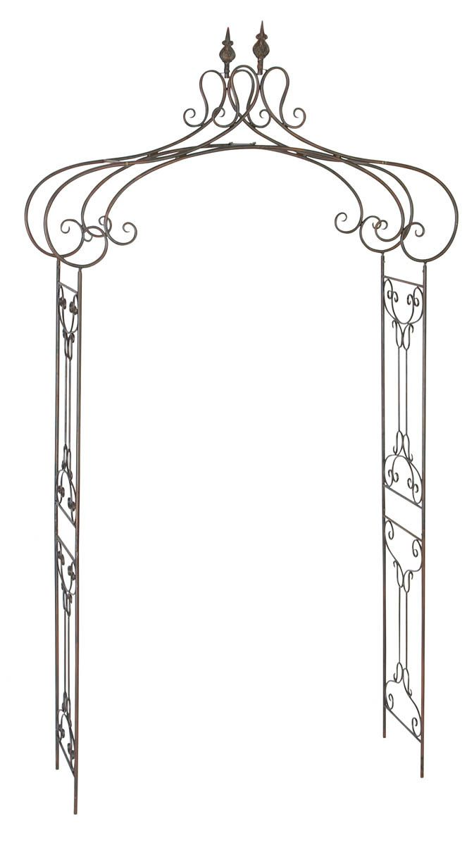 Aspire Decorative Metal Garden Arch