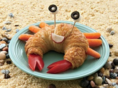 crabby cresent rolls