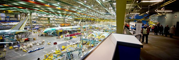 Boeing Factory Tours // Everett, Washington