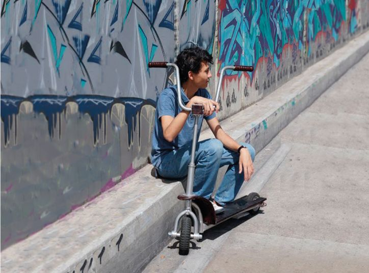PATINETE: DESIGN SCOOTER