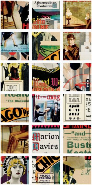 Case: Instagram Jigsaw Puzzle    毎年春にトロントで開催される無声映画の映画祭・トロント・サイレント・フィルム・フェスティバル(TSFF)。4月6日よりスタートする今回