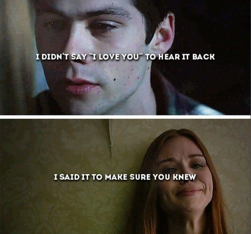 I don't ship Stydia, but this quote sounds cute :3