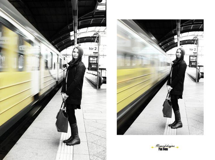 Nieperfekcyjna Pani Domu: Train station.