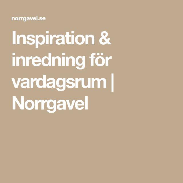 Inspiration & inredning för vardagsrum   Norrgavel