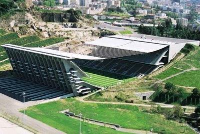 Estadio Braga, Portugal