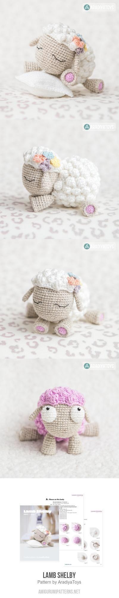 Lamb Shelby amigurumi pattern