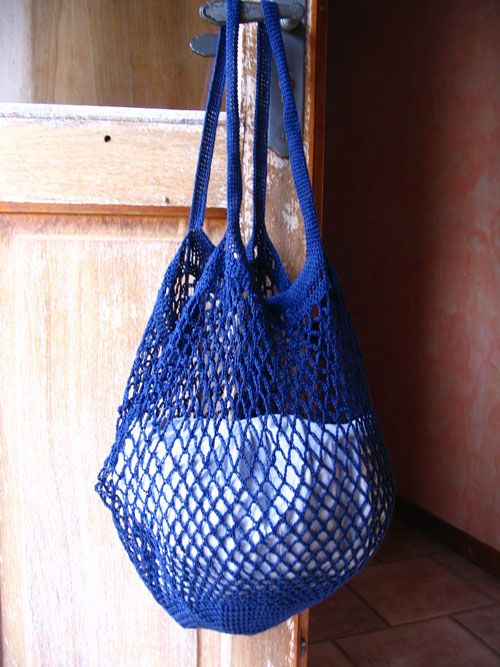 Sac de courses au crochet                                                                                                                                                                                 Plus