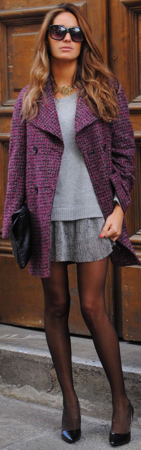 ♥ na  love this,however at my age the skirt would have to be a little longer, and well, that would just ruin it:(