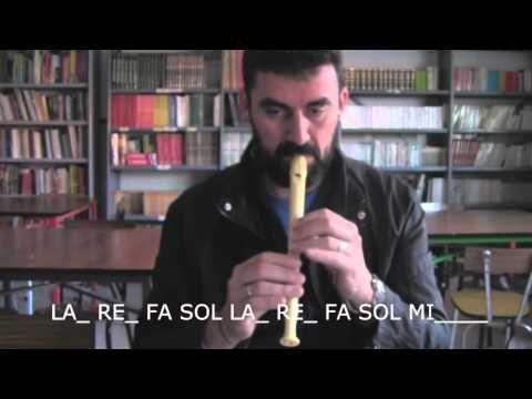 La saeta - Flauta dulce - YouTube