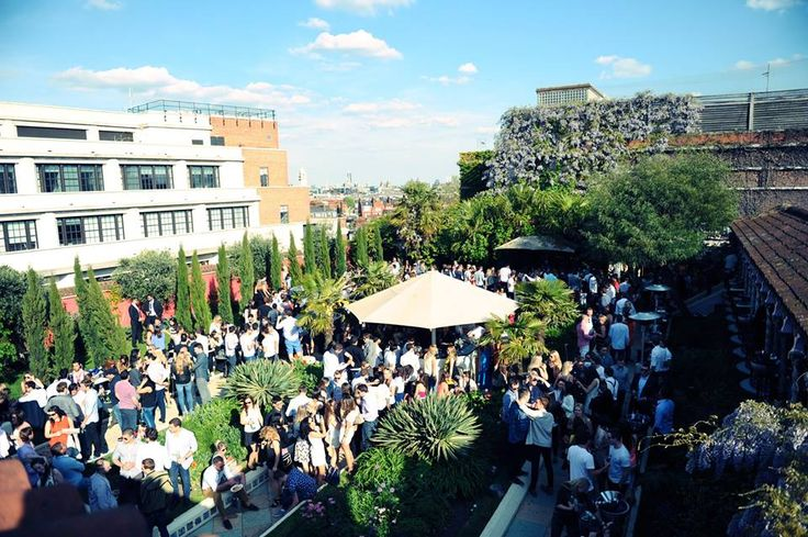 rooftop garden clubbing - Google Search