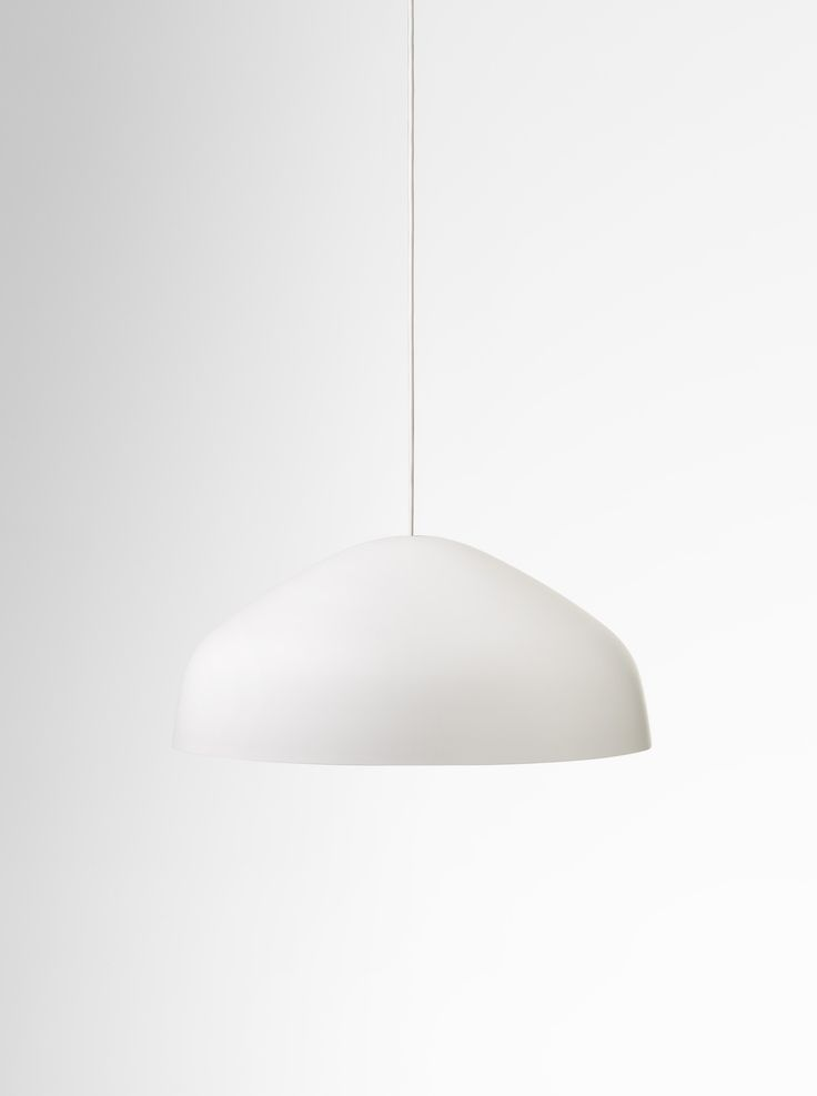 Ora pendant | White | Daily Imprint Interview + More Images http://www.dailyimprint.net/2015/09/designer-ross-gardam.html