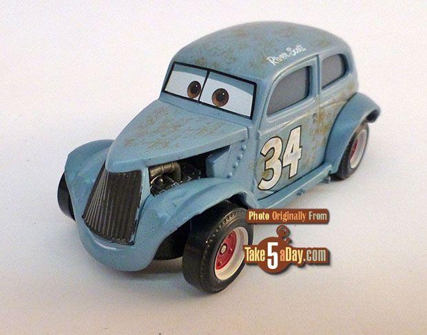 CARS 3 RIVER SCOTT Mattel Disney Pixar Loose