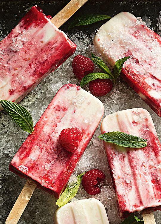 How to make Raspberry & Yoghurt Sundae Pops