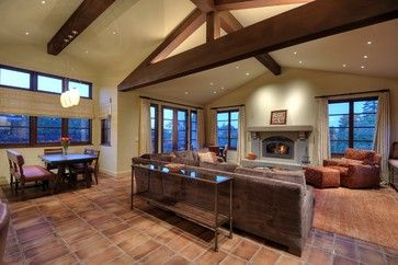 tile floors family rooms | Spanish Tile Floor Design Ideas, Pictures, Remodel, and Decor