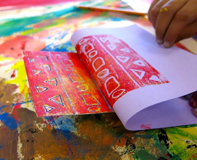 In the Art Room: Troubleshooting Printmaking with the Littles | Cassie Stephens | Bloglovin'