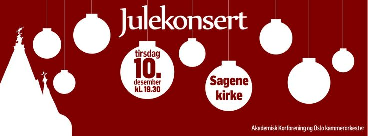 Plakat julekonsert 2013. Christmas concert poster. Illustrations. Graphic design. Christmas decorations. Facebook banner.