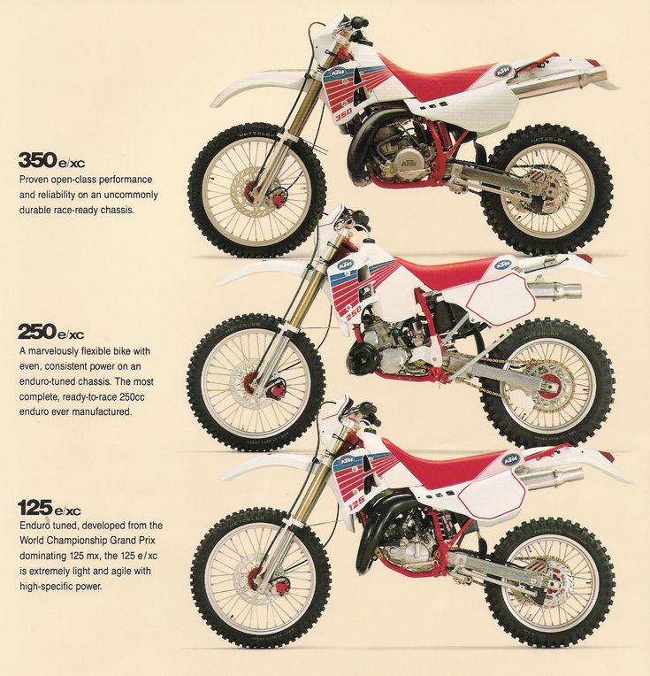 1990 KTM EXC Bikes