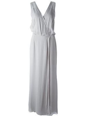 'Deborah' draped dress