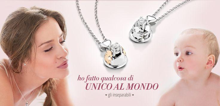 Idee regalo per Fidanzamento - Battesimo - Collezione Gioielli - Orologi - Profumo - Foulard - Lebebé di Lucebianca www.whatiwant.it