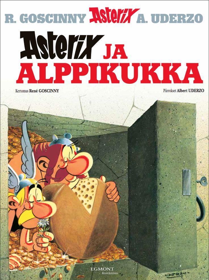 Asterix ja alppikukka