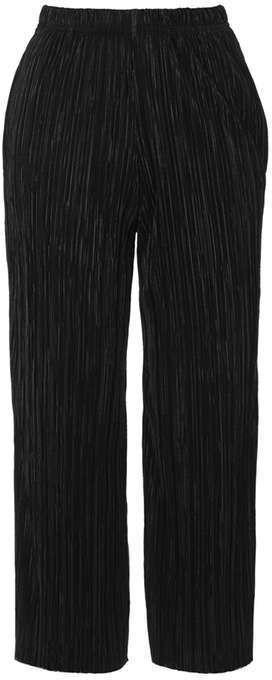Petite pleat awkward trouser