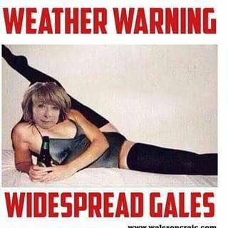 Another weather warning for tonight