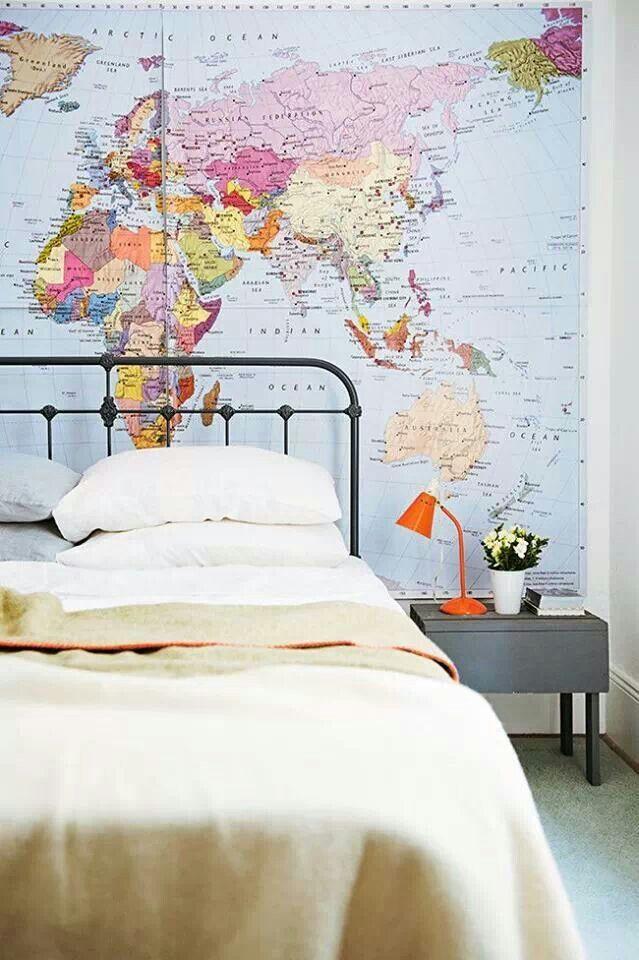 Map bedroom