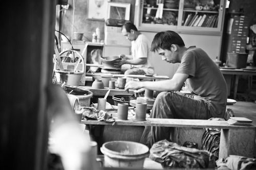 Doy Din Dang Pottery Village Chiang Rai:  A small pottery village where you can watch the workmen creating the ceramics.