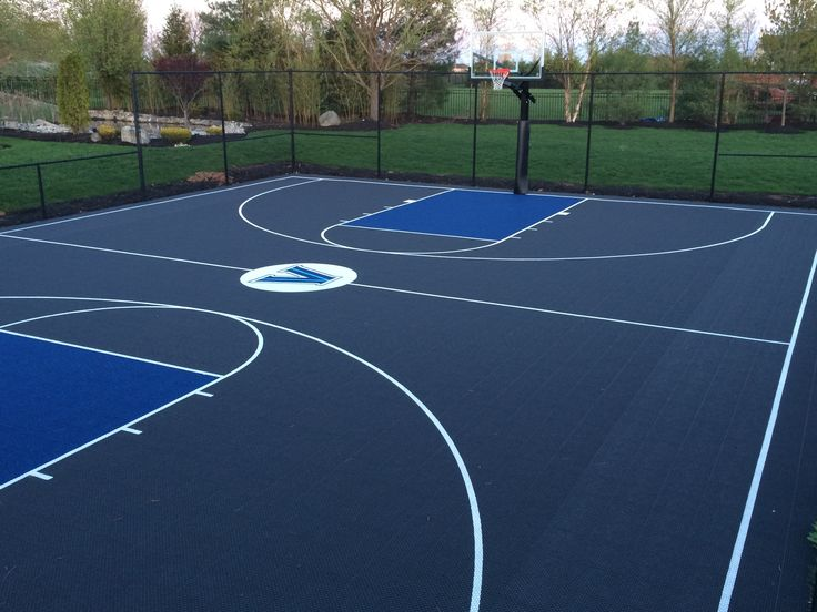 The 25 best basketball court size ideas on pinterest for Built in basketball court