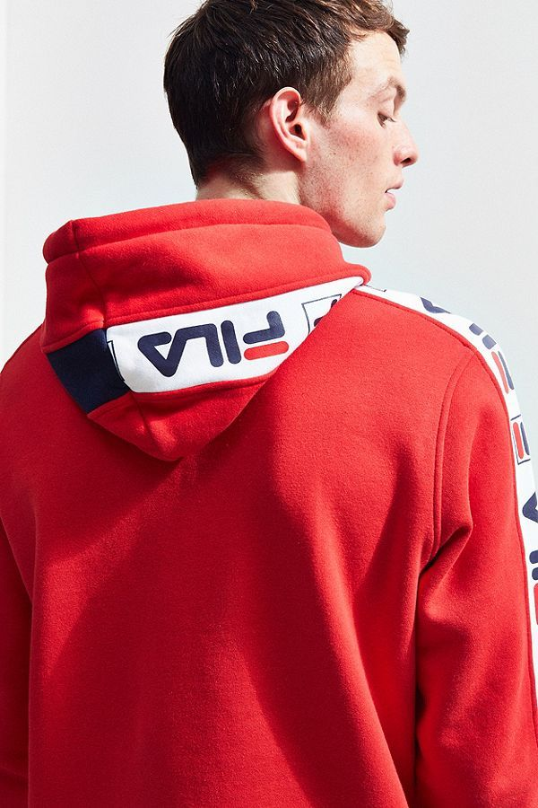 b33dce30592a3 Slide View  3  FILA Fifty-Fifty Hoodie Sweatshirt