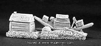 Dark Heaven Legends > Small Egyptian Treasure    Reaper Miniatures :: Miniatures