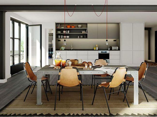 sillas de diseño | Estilo Escandinavo - Charlotte Perriand