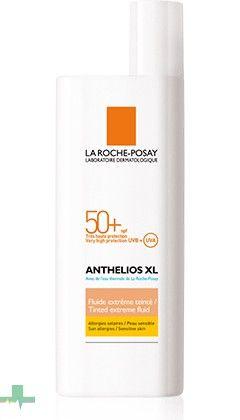 El protector solar Anthelios SPF 50+ Fluido Extremo Color, además de proteger tu piel de los rayos solares, aporta uniformidad en la piel gracias a su efecto color. http://www.farmachueca.com/la-roche-posay-anthelios-xl-spf-50-fluido-extremo-con-color.html