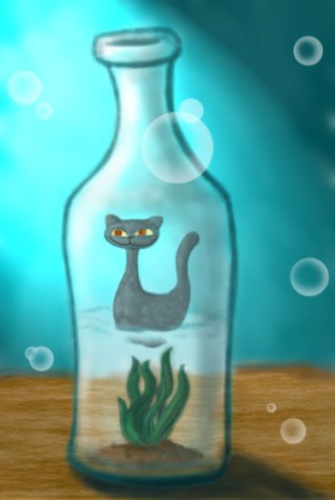 Bottle Cat