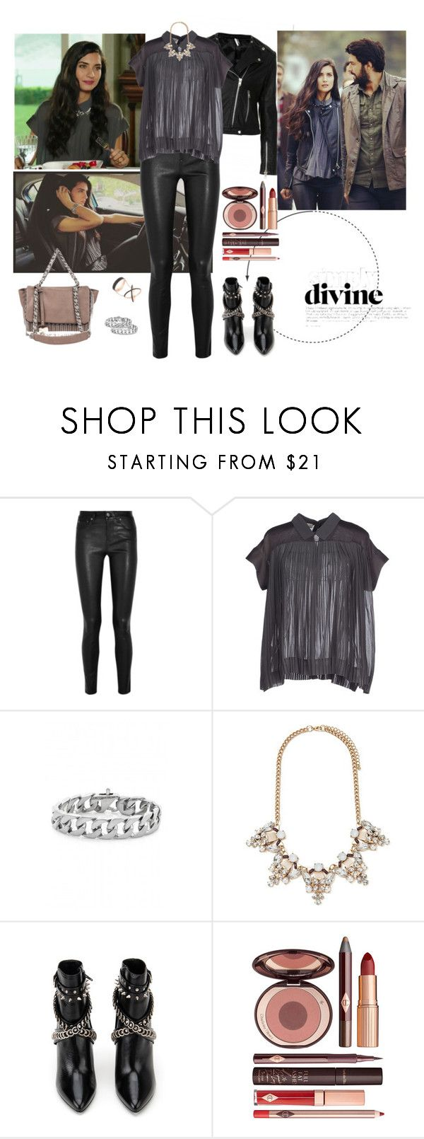 """Kara Para Ask Ep. 19 (Elif - Tuba Buyukustun)"" by chaneladdicted ❤ liked on Polyvore featuring Helmut Lang, Stefanel, Forever 21, Yves Saint Laurent, Charlotte Tilbury, women's clothing, women, female, woman and misses"