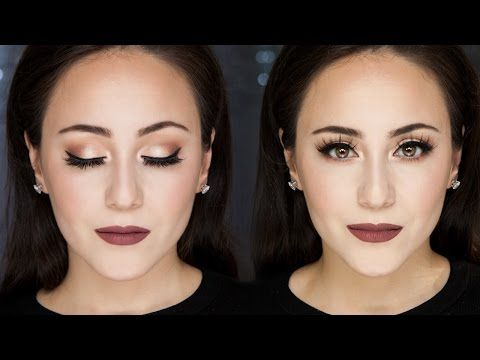 Soft Smokey Eye Tutorial | Full Face | Hatice Schmidt - YouTube