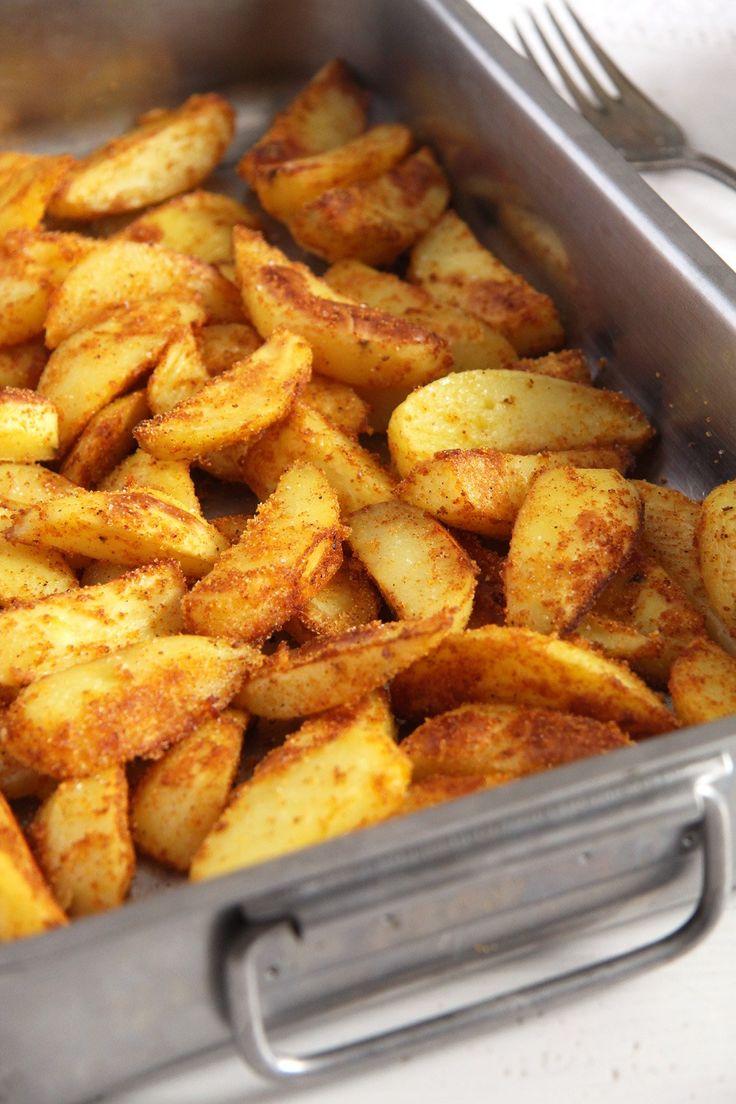 Baked Cornmeal Potatoes