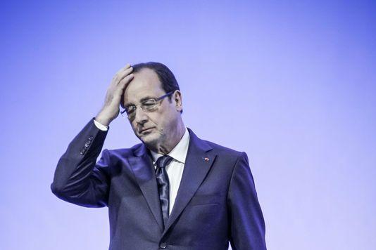 12.07.13 / Les impasses du hollandisme / François Hollande en visite dans l'usine des laboratoires Pierre Fabre de Soual (Tarn), le 30 mai 2013.