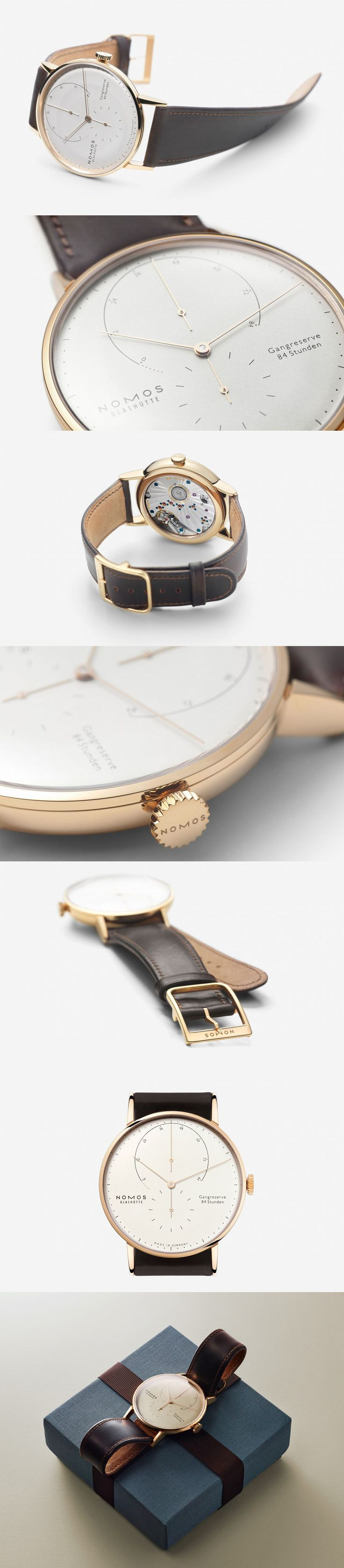 reposted by #ParadisoInsurance love this watch The Nomos Lambda Roségold