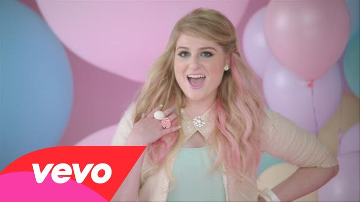 Meghan Trainor - All About That Bass  With a title like, All About That Bass, I was expecting some dinky little pop song about dancing.  Instead we get a little pastel coloured pop song about body acceptance.   How adorable...