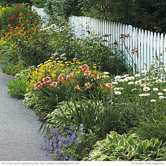 163 Best Images About Garden Design Ideas On Pinterest: low maintenance garden border ideas