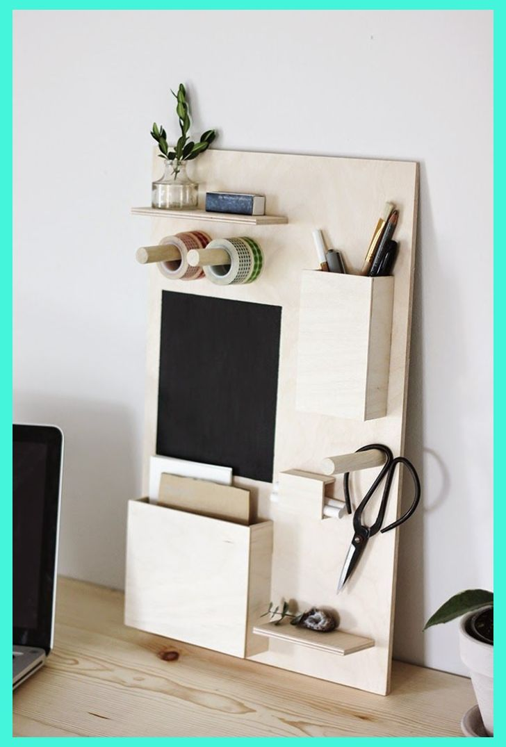 Office Desk Organization 101 Quick Tips For Avoiding Office Desk Clutter Diy Wooden Desk Desk Organization Diy Wooden Desk Organizer