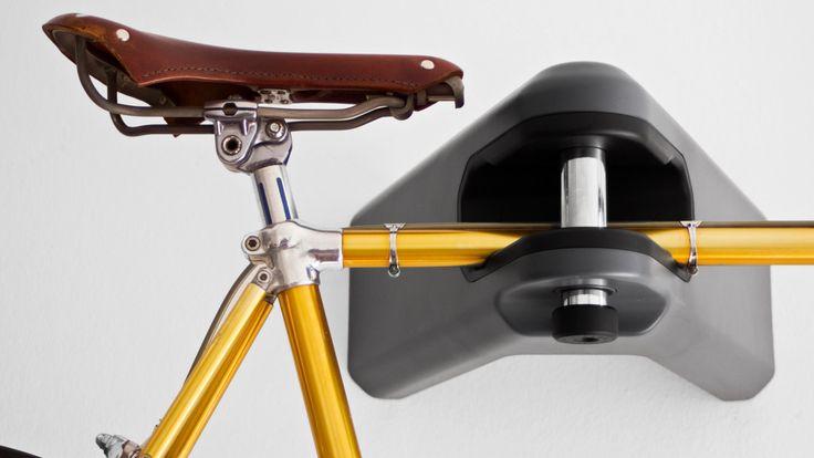 Hiplok Airlok, le support mural de vélo qui fait aussi antivol | Vélo ville & vélo urbain sur Le Vélo Urbain.com