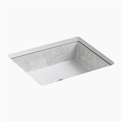Kohler Co. Bathroom Sink 14275 SMC 0 Empress Bouquet On Kathryn Undermount  | Pinterest