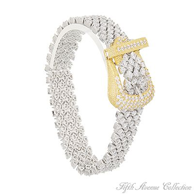 Bridal Bracelet - Heiress by Fifth Avenue Collection. Made with Swarovski crystal.