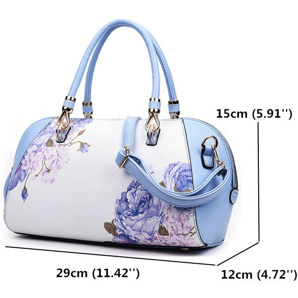 Women Elegant Flower Shell Bags Ladies Folk-Custom Shoulder Bags Trible Crossbody Bags